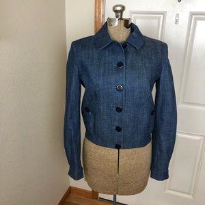Vintage Inès De La Fressange Paris Denim Jacket